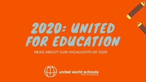 United for education: 2020 in review