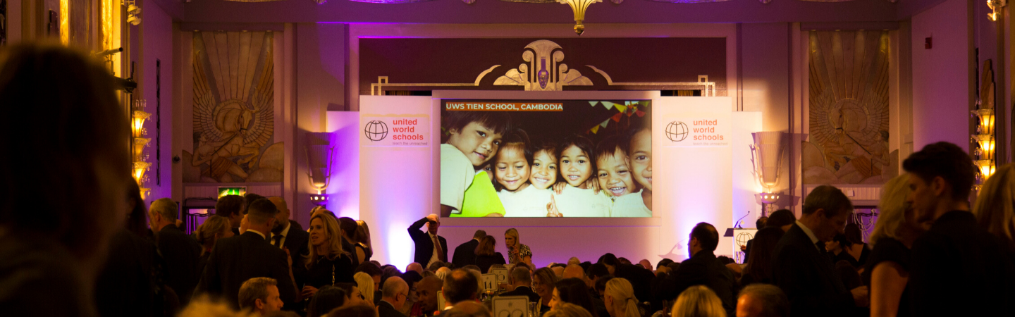 Gala Dinner raises over £450,000 towards education