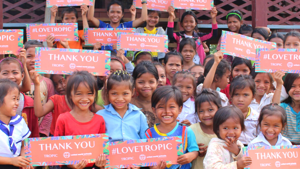 Tropic Skincare are donating 1 million days of education